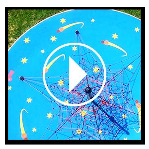 Miniature de la vidéo de l'aire de jeux thématique espace à Gretz-Armainvilliers