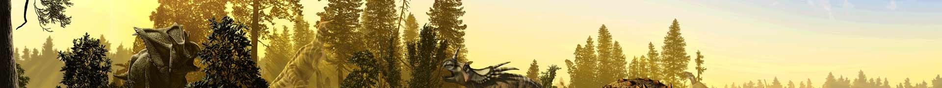 Thématique d'une aire de jeux - Petit dinosaure