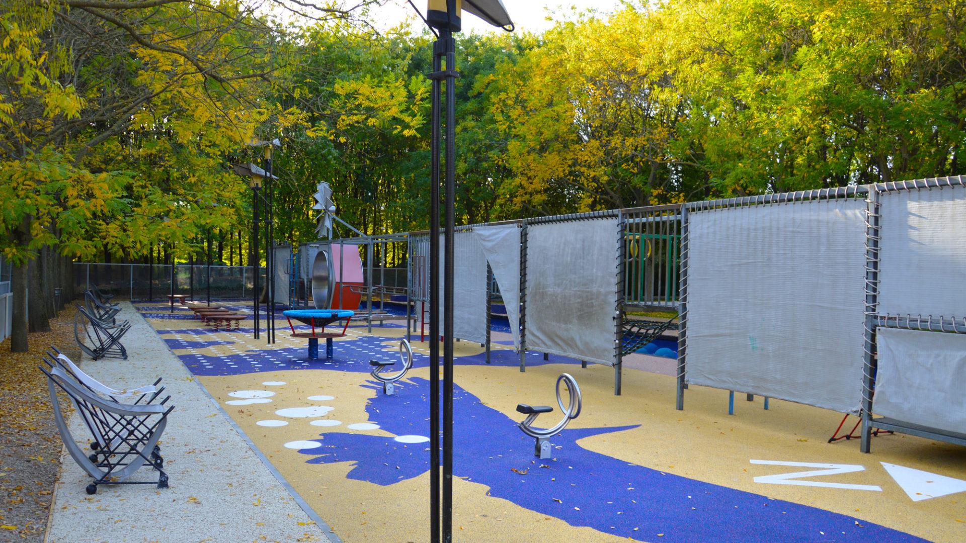 Aire de jeux du Jardin des Dunes et des Vents (La Villette - 75)