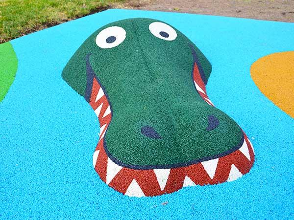 Motifs-de-sol-souple-3D-crocodile-aire-de-jeux-thématique-jungle