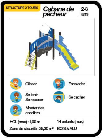 CABANE DE PÊCHEUR - Structure multifonctions